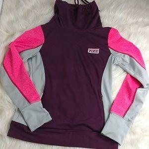 PINK Victoria Secret pullover jacket size xS purpl